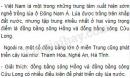 Bài 1 trang 33 sgk địa lí 9