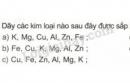 Bài 1 trang 54 sgk hóa học 9