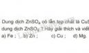Bài 2 trang 54 SGK Hoá học 9