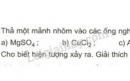 Bài 2 trang 58 SGK Hoá học 9