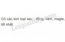 Bài 3 trang 48 SGK Hoá học 9