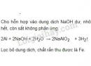 Bài 3 trang 60 SGK Hoá học 9