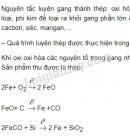Bài 3 trang 63 sgk hoá học 9