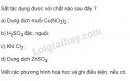 Bài 4 trang 60 sgk hoá học 9