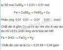 Bài 5 trang 60 SGK Hoá học 9