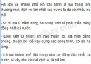 Bài 1 trang 60 sgk địa lí 9