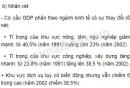 Thay đổi cơ cấu kinh tế trang 60 sgk địa lí 9