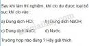 Bài 4 trang 81 SGK Hoá học 9
