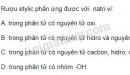Bài 1 trang 139 SGK Hóa học 9