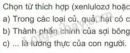 Bài 1 trang 158 SGK Hóa học 9