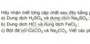Bài 1 trang 167 SGK Hóa 9