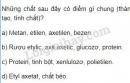 Bài 1 trang 168 SGK Hóa học 9