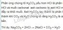 Bài 1 trang 91 sgk hoá học 9