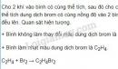 Bài 2 trang 133 sgk hoá học 9