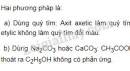 Bài 2 trang 144 SGK Hóa học 9
