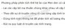 Câu hỏi 2 trang 7 SGK Sinh học 9