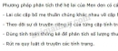 Bài 2 trang 7 SGK Sinh học 9