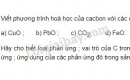 Bài 2 trang 84 SGK Hoá học 9