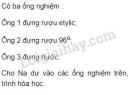 Bài 3 trang 139 SGK Hóa học 9