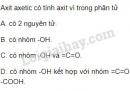 Bài 3 trang 143 sgk hóa học 9