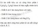 Bài 3 trang 144 SGK Hóa học 9