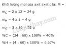 Bài 4 trang 108 sgk hoá học 9