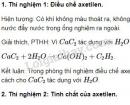 Báo cáo thực hành: Tính chất của Hiđrocacbon
