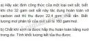 Bài 5 trang 103 sgk hoá học 9