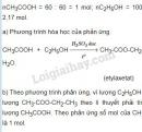 Bài 7 trang 143 SGK Hóa học 9
