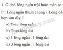 Bài 1 trang 22 SGK Sinh học 9