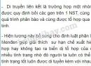 Bài 1 trang 43 SGK Sinh học 9