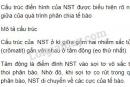 Bài 2 trang 26, SGK Sinh học lớp 9