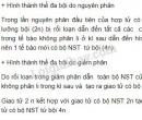 Bài 2 trang 71 SGK Sinh học 9