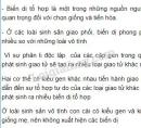 Câu 3,4, trang 19, SGK Sinh học 9