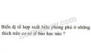 Bài 3 trang 36 SGK Sinh học 9