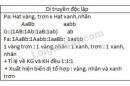 Bài 3 trang 43 SGK Sinh học 9