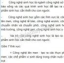 Bài 3, trang 95, SGK Sinh học lớp 9