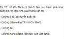 Căn cứ vào hình 14.1, hãy cho biết từ TP. Hồ Chí Minh có thể đi đến các thành phố khác bằng những loại hình giao thông vận tải nào?