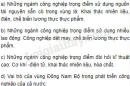 Bài 2 trang 124 SGK Địa lí 9