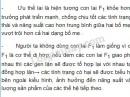 Bài 1, trang 104, SGK Sinh học lớp 9