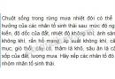 Bài 1, trang 121, SGK Sinh học lớp 9