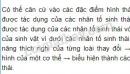 Bài 1, trang 190, SGK Sinh học lớp 9