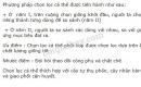 Bài 2 trang 107 SGK Sinh học 9