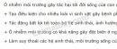 Bài 2 trang 165 SGK Sinh học 9