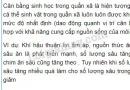 Bài 4 trang 149 SGK Sinh học 9