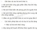 Bài 9, trang 190, SGK Sinh học lớp 9