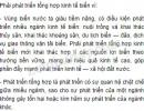 Câu 1 trang 139 sgk địa lí 9