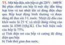 Bài 11 trang 68 Tài liệu Dạy – học Vật lí 9 tập 1