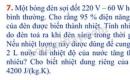 Bài 7 trang 68 Tài liệu Dạy – học Vật lí 9 tập 1