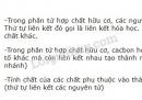 Bài 1 trang 101 SGK Hóa học 11